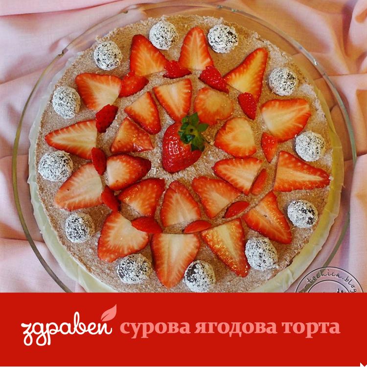 Сурова ягодова торта