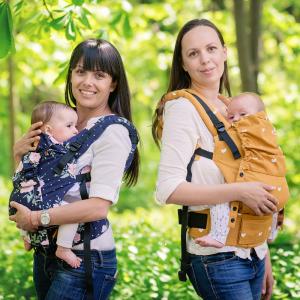 Носене на бебе - защо и как?! Практически съвети с Мира и Хриси