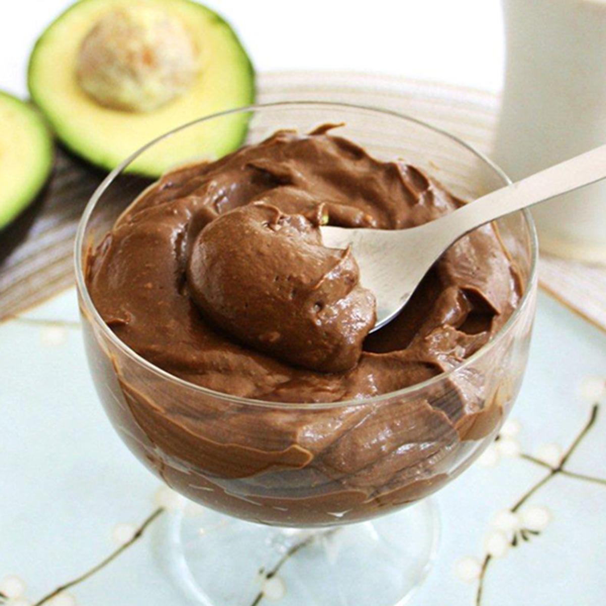 Авокадо шоко крем