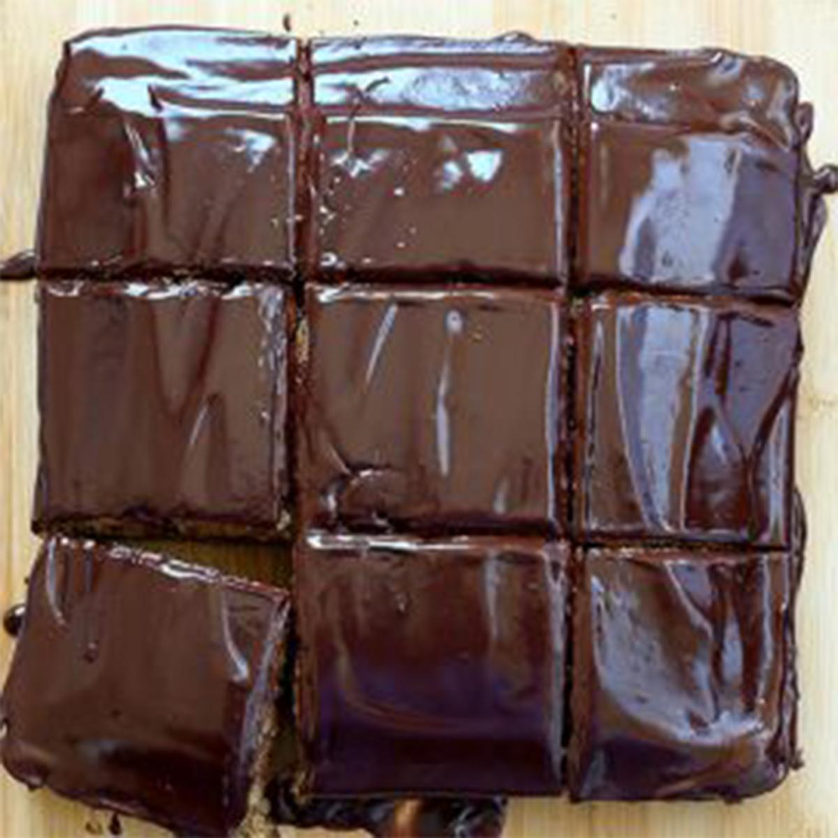 Шоколадова веган торта