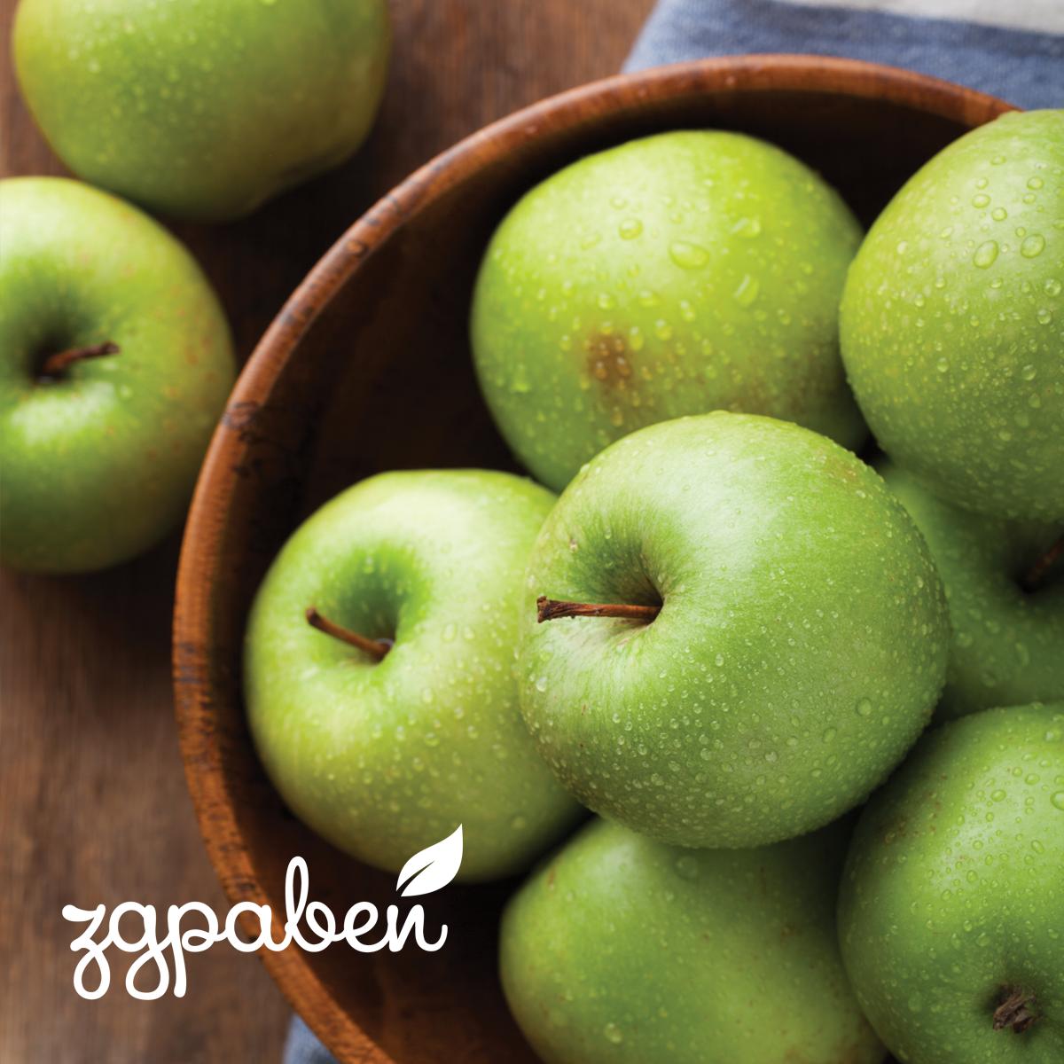 Плод Зелена Ябълка